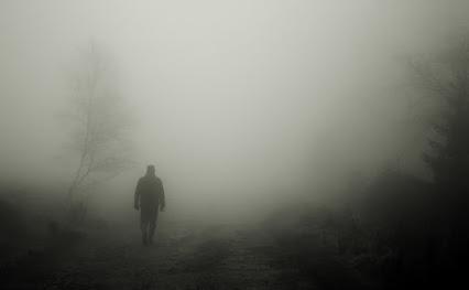 man-fog