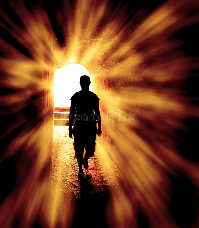 hope-end-tunnel-person-long-walking-towards-light-rays-39872266